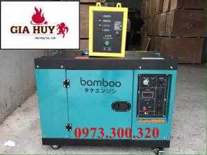Máy phát điện chạy dầu Bamboo 7,5 kW chính hãng nhậu khẩu nguyên chiếc.