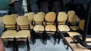 Bàn ghế thanh lý gấp 50 bộ