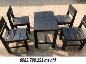 Bàn ghế quán cóc giá rẻ