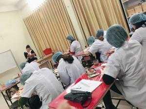 Tập huấn phòng chống lây nhiễm