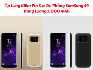 Ốp Lưng Samsung Galaxy S9 Kiêm Sạc Dự Phòng JLW-S9 Dung Lượng 5000mAh