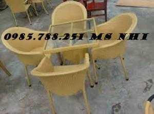 Bàn ghế cafe hgh52