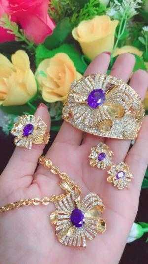 Trang sức Mạ Vàng hợp kim cao cấp - Qùa cho chị em ngày 20 - 10