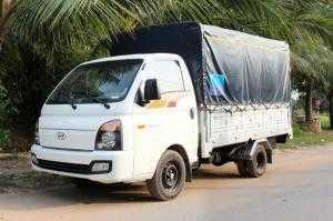 Siêu phẩm xe tải New Porter 1,49 tấn thùng mui bạt