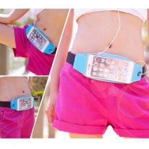 Túi đeo bụng đựng điện thoại tập thể dục