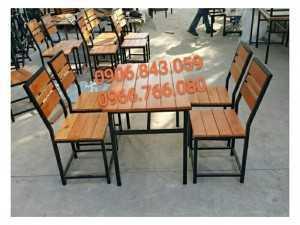 Bàn ghế gỗ Quán nhậu