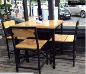 Bàn ghế quán ăn giá tại xưỡng..