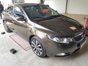 Bán Kia Forte S 1.6AT màu nâu titan số tự động sản xuất 2013 biển Sài Gòn
