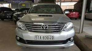 Bán Toyota Fortuner G 2.5MT số sàn máy dầu sản xuất 2014 mẫu mới biển Sài Gòn