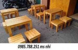 Bàn ghế mini quán cóc giá rẻ nhất