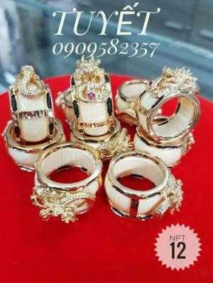 Nhẫn Nam Đầu Rồng