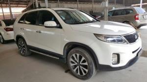 Kia New Sorento 2.2MT dầu 2016 màu trắng , xe đẹp nhiều options , hỗ trọ vay 75%