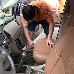 Bọc ghế da xe hơi cao cấp . Bảo hành 2 năm
