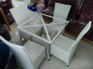 Bàn ghế cafe giá rẻ Htt01
