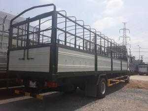 Xe FAW  tải trọng 7.8 tấn thùng dài 9.8m. Giá 885 triệu. Giao xe ngay