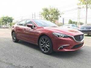 Mazda 6 2.5 Premium 2018 mới 100%, Mazda Bình Dương có đủ màu, hỗ trợ 85% giá trị xe, ưu đãi nhiều phần quà hấp dẫn