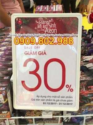 Bảng giá siêu thị nam châm