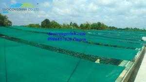 Lưới che ao tôm thủy sản, lưới che ao, đầm tôm
