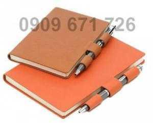 Xưởng sản xuất sổ da, sổ tay, sổ da menu in logo giá rẻ
