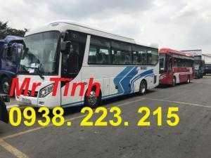 xe 29 chỗ bầu hơi 8m5 mẫu mới 2018 thaco tb85s e4 đời mới