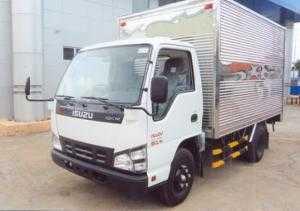 Bán trả góp xe Isuzu QKR77HE4 thùng kín giảm 50% giá thùng
