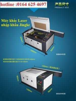Máy Laser 6040 khắc trên kính