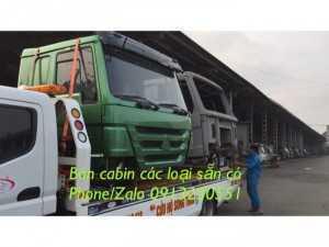 Bán cabin xe Howo, dongfeng, a7, hino, isuzu,...