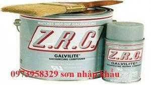Sơn Mạ Kẽm ZRC Aerosol ( nặng 10.88kg , lon 4 Lít ) = 0973958329 5ae1aa9c365c9_1524738716