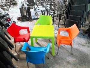 Bàn ghế cafe giá thanh lý rẻ