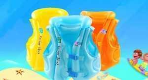 Áo Phao Bơi Cho Trẻ 3 đến 6 tuổi Nhựa tổng hợp PVC - MSN1831100