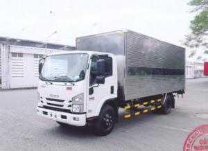 Bán trả góp xe Isuzu 5.5 tấn NQR75LE4 thùng kín inox giá rẻ nhất Miền Nam