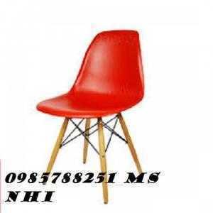 Ghế nhựa chân gỗ giá rẻ nhất NN01