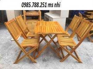 Bàn ghế cafe giá rẻ NN05