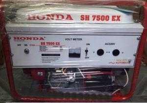 Máy phát điện chuyên phục vụ cho mục đích gia đình chính hãng Honda giá rẻ siêu bền SH7500EX