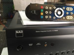 Bán chuyên Ampli NAD C 375BBE  hàng tuyển đẹp còn 98% mới , đẹp như mới