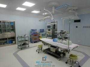 Thiết kế thi công nội thất phòng mổ bệnh viện, trung tâm thẩm mỹ