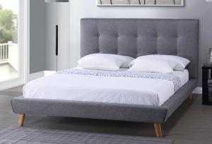 Giường bọc nệm cao cấp HT05.02