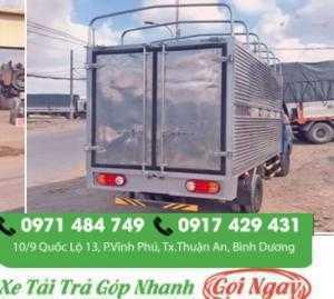 Xe tải hyundai porter h150 1t5 thùng mui bạt  hỗ trợ mua xe tải trả góp nhanh