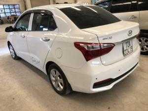 Bán Hyundai Grand i10 1.2MT sedan bản gia đình sản xuất 2017 màu trắng số sàn