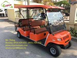 Bán xe điện chở khách du lịch 8 chỗ Club car