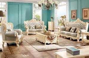 Sofa gỗ cổ điển   xưởng làm bàn ghế tân cổ điển phòng khách rẻ đẹp giao hàng toàn quốc