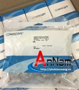 Chuyên phân phối hạt mạng RJ45 COMMSCOPE AMP Cat5/Cat6 hàng chính hãng, chân đồng 100% có sẵn hàng tại ANC