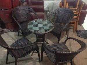 Bàn ghế cafe sân vườn giá rẻ htt26