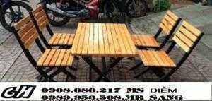 Ghế gỗ quán nhậu giá rẻ nhất z9