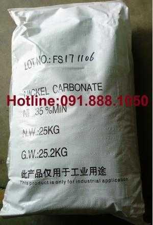 Bán NiCO3, bán Nickel Carbonate, Niken Cacbonat dùng trong xi mạ, gốm sứ