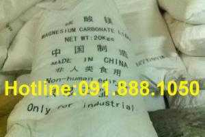 Bán MgCO3, bán Magie Cacbonat, bán Mangeisium Carbonate dùng trong gốm sứ, vật liệu chịu lửa