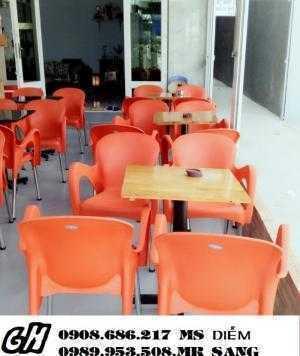 Bàn ghế cafe ngoài trời giá rẻ h26