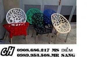 Ghế nhựa cafe sân vườn h30