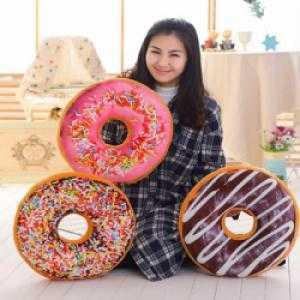 Gối 3D Bánh Donut 40cm NDX3029
