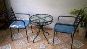 Bàn ghế sắt giá tại xưởng Htt1A